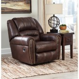 Ashley Manzanola Chocolate Rocker Recliner Available Online in Dallas Fort Worth Texas