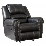 Ashley Manzanola Black Rocker Recliner Available Online in Dallas Fort Worth Texas