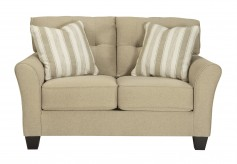 Ashley Laryn Khaki Loveseat Available Online in Dallas Fort Worth Texas