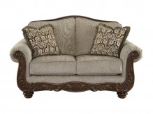 Ashley Cecilyn Cocoa Loveseat Available Online in Dallas Fort Worth Texas