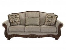 Ashley Cecilyn Cocoa Sofa Available Online in Dallas Fort Worth Texas