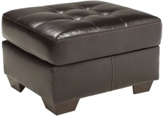 Ashley Coppell DuraBlend Chocolate Ottoman Available Online in Dallas Fort Worth Texas
