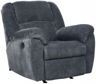 Ashley Timpson Indigo Rocker Recliner Available Online in Dallas Fort Worth Texas