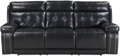 Ashley Graford Navy Power Reclining Sofa Available Online in Dallas Fort Worth Texas