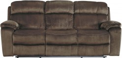 Ashley Uhland Chocolate Power Reclining Sofa Available Online in Dallas Fort Worth Texas