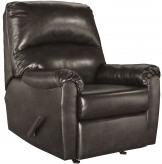 Ashley Talco Gunmetal Rocker Recliner Available Online in Dallas Fort Worth Texas