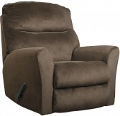 Ashley Cossette Chocolate Rocker Recliner Available Online in Dallas Fort Worth Texas