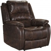 Ashley Barling Walnut Power Recliner Available Online in Dallas Fort Worth Texas