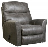 Ashley Tullos Slate Rocker Recliner Available Online in Dallas Fort Worth Texas
