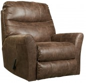 Ashley Tullos Coffee Rocker Recliner Available Online in Dallas Fort Worth Texas