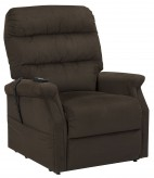 Ashley Brenyth Chocolate Power Lift Recliner Available Online in Dallas Fort Worth Texas