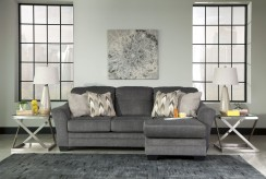 Ashley Braxlin Charcoal Sofa Chaise Available Online in Dallas Fort Worth Texas