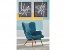 Ashley Pelsor Blue Accent Chair Available Online in Dallas Fort Worth Texas