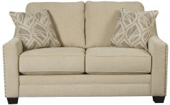 Ashley Mauricio Linen Loveseat Available Online in Dallas Fort Worth Texas