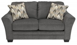 Ashley Braxlin Charcoal Loveseat Available Online in Dallas Fort Worth Texas