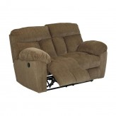 Ashley Hector Caramel Reclining Loveseat Available Online in Dallas Fort Worth Texas