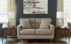 Chento Jute Loveseat Available Online in Dallas Fort Worth Texas