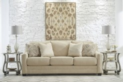 Ashley Mauricio Linen Sofa Available Online in Dallas Fort Worth Texas