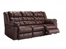 Ashley Brolayne DuraBlend Reclining Sofa Available Online in Dallas Fort Worth Texas