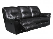 Ashley Kilzer DuraBlend Black Reclining Sofa Available Online in Dallas Fort Worth Texas