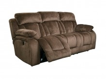 Ashley Stricklin Chocolate Reclining Sofa Available Online in Dallas Fort Worth Texas