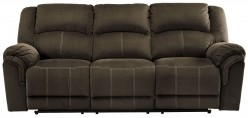 Ashley Quinnlyn Coffee Reclining Sofa Available Online in Dallas Fort Worth Texas