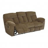 Ashley Hector Caramel Reclining Sofa Available Online in Dallas Fort Worth Texas