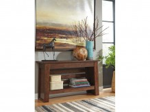 Ashley Harpan Sofa Table Available Online in Dallas Fort Worth Texas