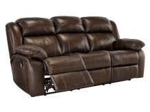 Ashley Branton Antique Reclining Power Sofa Available Online in Dallas Fort Worth Texas
