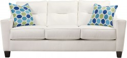 Ashley Forsan Nuvella White Sofa Available Online in Dallas Fort Worth Texas
