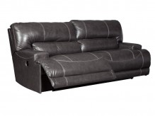 McCaskill Gray Reclining Power Sofa Available Online in Dallas Fort Worth Texas