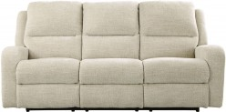 Ashley Krismen Sand Power Reclining Sofa Available Online in Dallas Fort Worth Texas