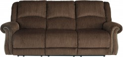 Goodlow Chocolate Power Reclining Sofa Available Online in Dallas Fort Worth Texas