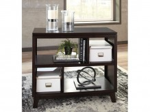 Ashley Chanceen Dark Brown Sofa Table Available Online in Dallas Fort Worth Texas