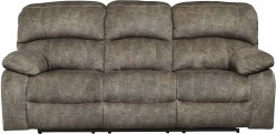 Ashley Cannelton Tri-Tone Gray Power Reclining Sofa Available Online in Dallas Fort Worth Texas