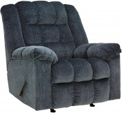 Ashley Ludden Blue Rocker Recliner Available Online in Dallas Fort Worth Texas
