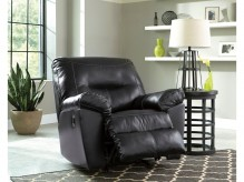 Ashley Kilzer DuraBlend Black Rocker Recliner Available Online in Dallas Fort Worth Texas