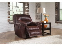 Kilzer DuraBlend Mahogany Rocker Recliner Available Online in Dallas Fort Worth Texas