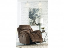 Ashley Stricklin Chocolate Rocker Recliner Available Online in Dallas Fort Worth Texas