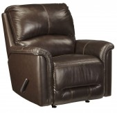 Ashley Lacotter Chocolate Rocker Recliner Available Online in Dallas Fort Worth Texas