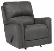 Ashley Ranika Grey Rocker Recliner Available Online in Dallas Fort Worth Texas