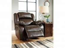 Ashley Branton Antique Power Rocker Recliner Available Online in Dallas Fort Worth Texas