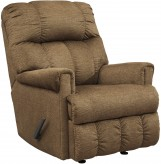 Ashley Craggly Straw Rocker Recliner Available Online in Dallas Fort Worth Texas