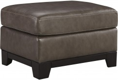 Ashley Derwood Pewter Ottoman Available Online in Dallas Fort Worth Texas