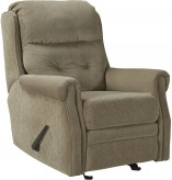 Ashley Gorham Caramel Glider Recliner Available Online in Dallas Fort Worth Texas
