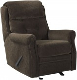 Ashley Gorham Espresso Glider Recliner Available Online in Dallas Fort Worth Texas