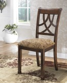 Ashley Leahlyn Brown Side Chair Available Online in Dallas Fort Worth Texas