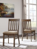 Ashley Zilmar Brown Side Chair Available Online in Dallas Fort Worth Texas