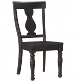Ashley Sharlowe Black Side Chair Available Online in Dallas Fort Worth Texas