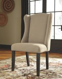 Ashley Gerlane Upholstered Side Chair Available Online in Dallas Fort Worth Texas